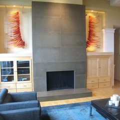 contemporary living room by Pangaea Interior Design, Portland, OR