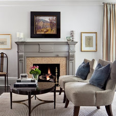 Contemporary Living Room by Sara Bederman Interior Design