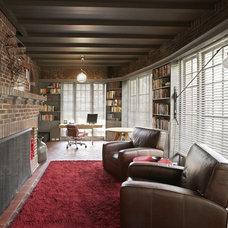 Contemporary Porch by Robert Kaner Interior Design