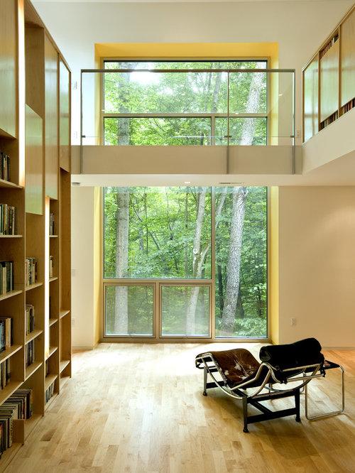 628 2nd Story Walkway Living Room Design Photos