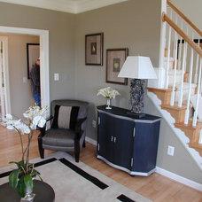 Modern Living Room by Laura Manning Bendik