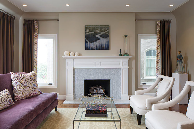 Transitional Living Room by Artistic Designs for Living, Tineke Triggs