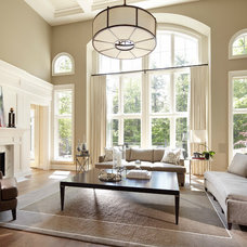 Transitional Living Room by Parkyn Design