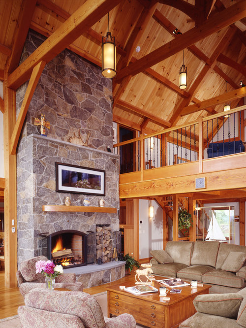 Forest View Ski Timber Frame House