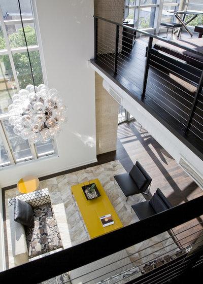 Contemporary Living Room by FORMA Design