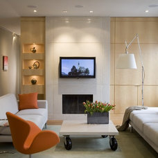 Contemporary Living Room by FORMA Design