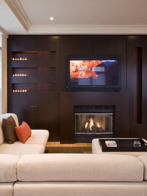 Tv Unit In Living Room: Best Wall Unit Fireplace Design Ideas & Remodel Pictures