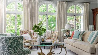 Formal Eclectic Living Room - Ross