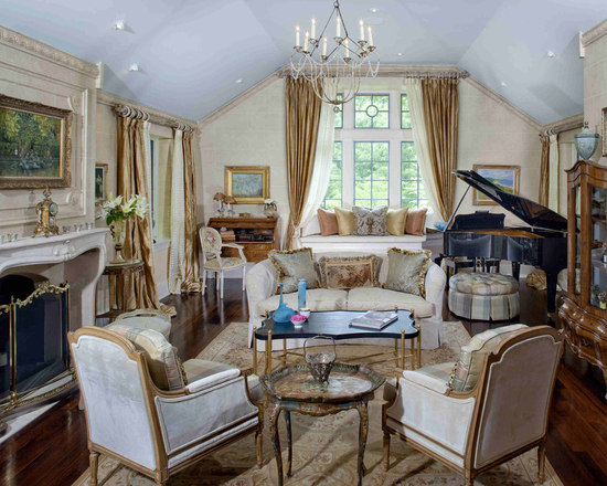 French Style Living Rooms Houzz