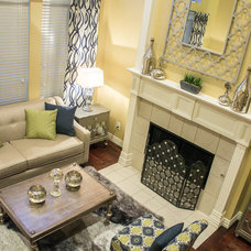 Traditional Living Room by JDS DESIGNS