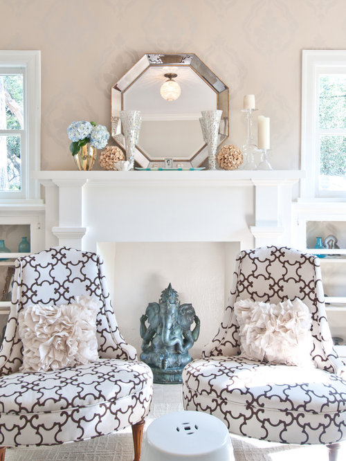Faux fireplace mantel home design ideas pictures remodel for Timeless fireplace designs