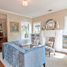 Traditional Living Room by Butter Lutz Interiors, LLC
