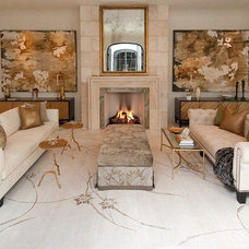 Contemporary Living Room by GOODCHILD BUILDERS INC