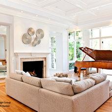 Living Room by Eden Clark of VEDA Design Group