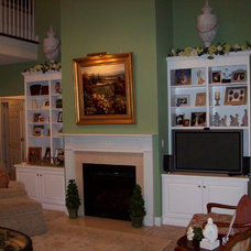 Traditional Living Room by David Fritz