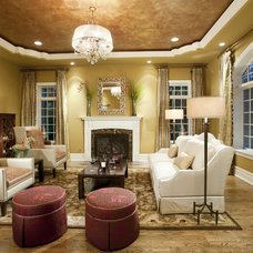 Traditional Living Room by Diane Bishop Interiors