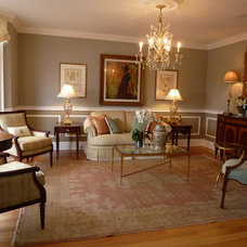 Traditional Living Room by Allison Lee Ethan Allen Milford, CT