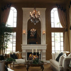 Faux Plants And Flowers Traditional Living Room New