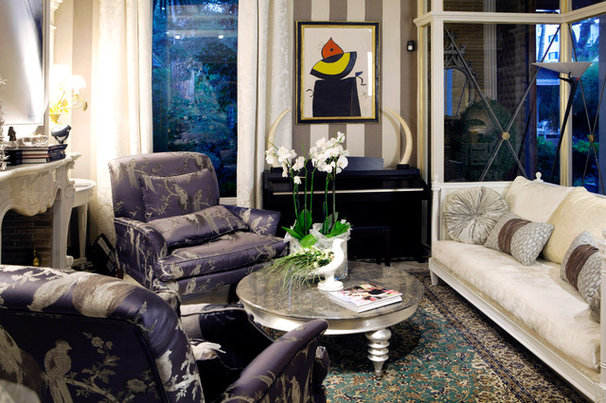 Eclectic Family Room by Luxurious Living