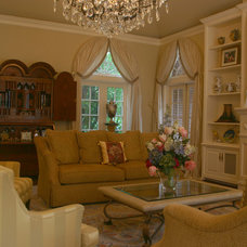 Traditional Living Room by Dena Brody, ASID, RID