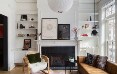 Brooklyn Brownstone Blends History and Modern Style