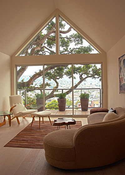 Contemporary Living Room Fougeron Architecture