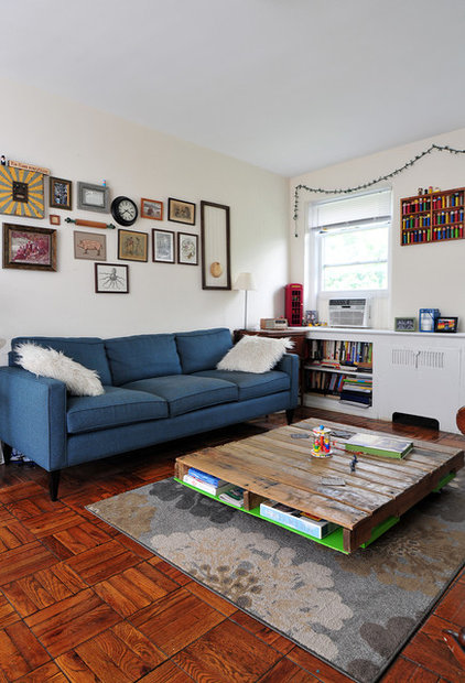 Midcentury Living Room by Nicole Crowder Photography