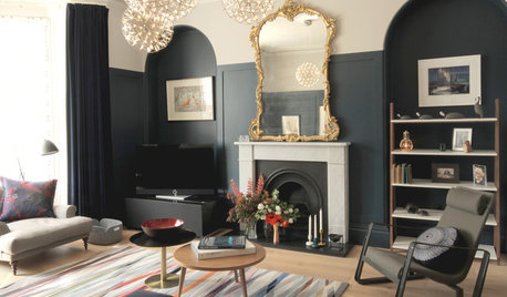 Houzz Tour: A Luxe Modern Makeover for a Period Scottish Flat