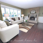 Jane Lockhart Interior Design Transitional Living Room