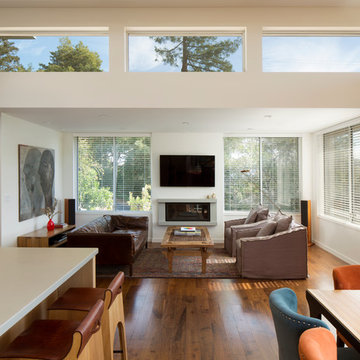 Four Corners House   Mill Valley, CA residence addition and remodel