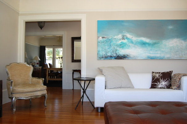 Contemporary Living Room by Lucy McLintic