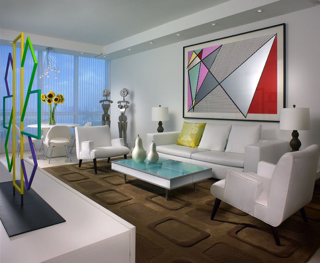 Modern Living Room by Causa Design Group