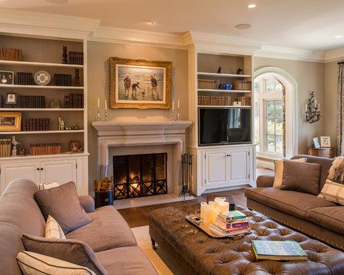 Tv Next To Fireplace Home Design Ideas Renovations Photos
