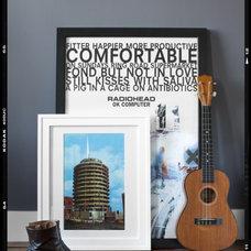 Modern Living Room Framed floor posters