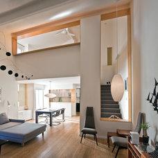 Modern Living Room by Neal McEwen