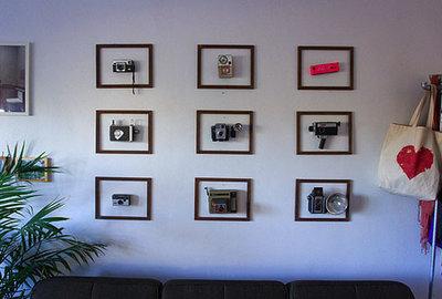 Salon framed photos