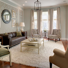 Eclectic Living Room by Franco A. Pasquale Design Associates, Inc