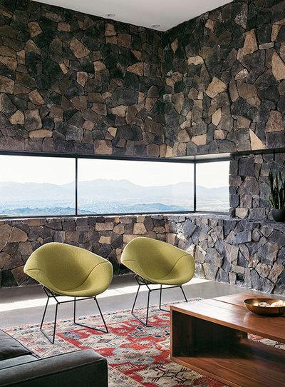 Modern Living Room by hazelbaker rush