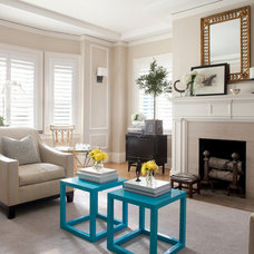 Traditional Living Room by Anyon Design