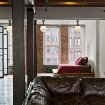 Franklin Street Loft - Living Room