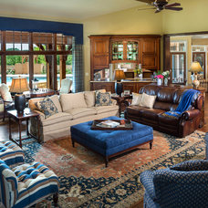Traditional Living Room by Designs Galore, LLC