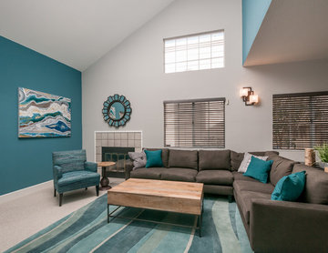 Fremont Cool and Contemporary Living Room