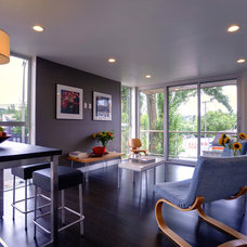 Modern Living Room by CAST architecture