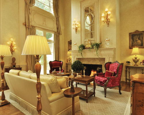 Formal French Country Living Room Houzz