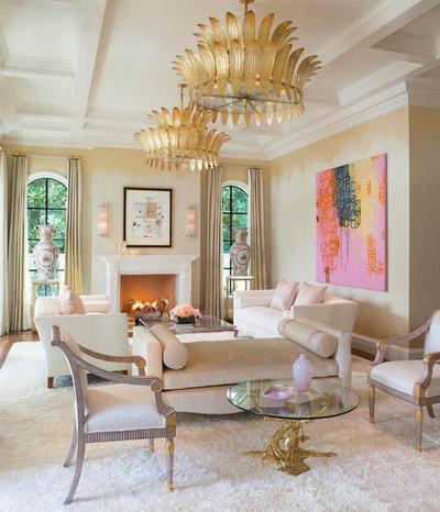Mediterranean Living Room by Richard Drummond Davis Architects