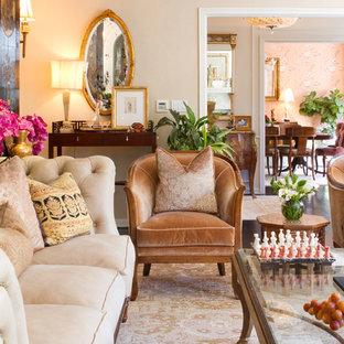Elegant living room photo in Los Angeles