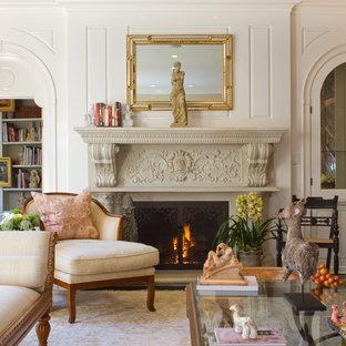 kolonial living, colonial living room | houzz, Design ideen