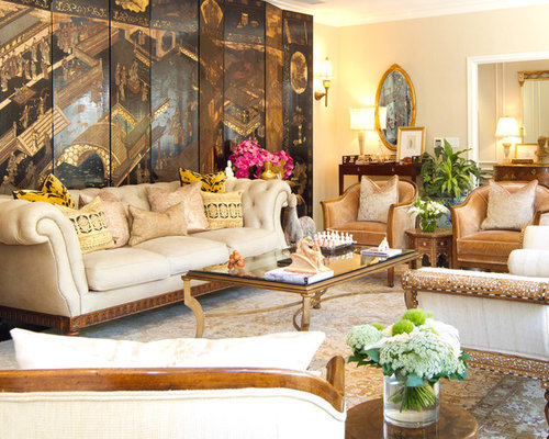 Colonial Living Room - Colonial Living Room Houzz