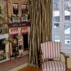 Traditional Living Room by Mulberry Interiors Oakville Ontario