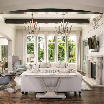 French Country Custom Home